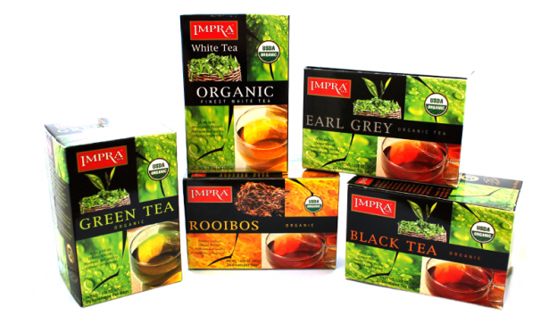 organic tea range